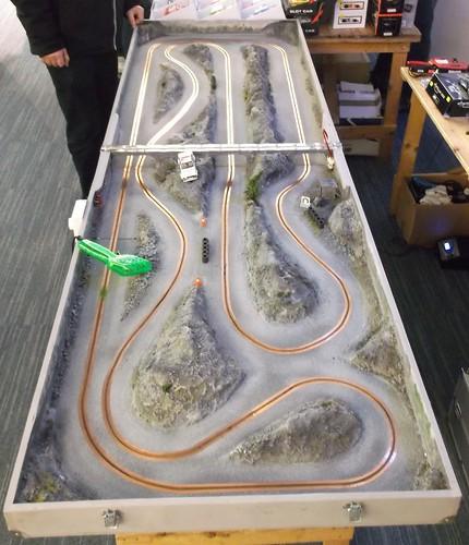 Micro race track