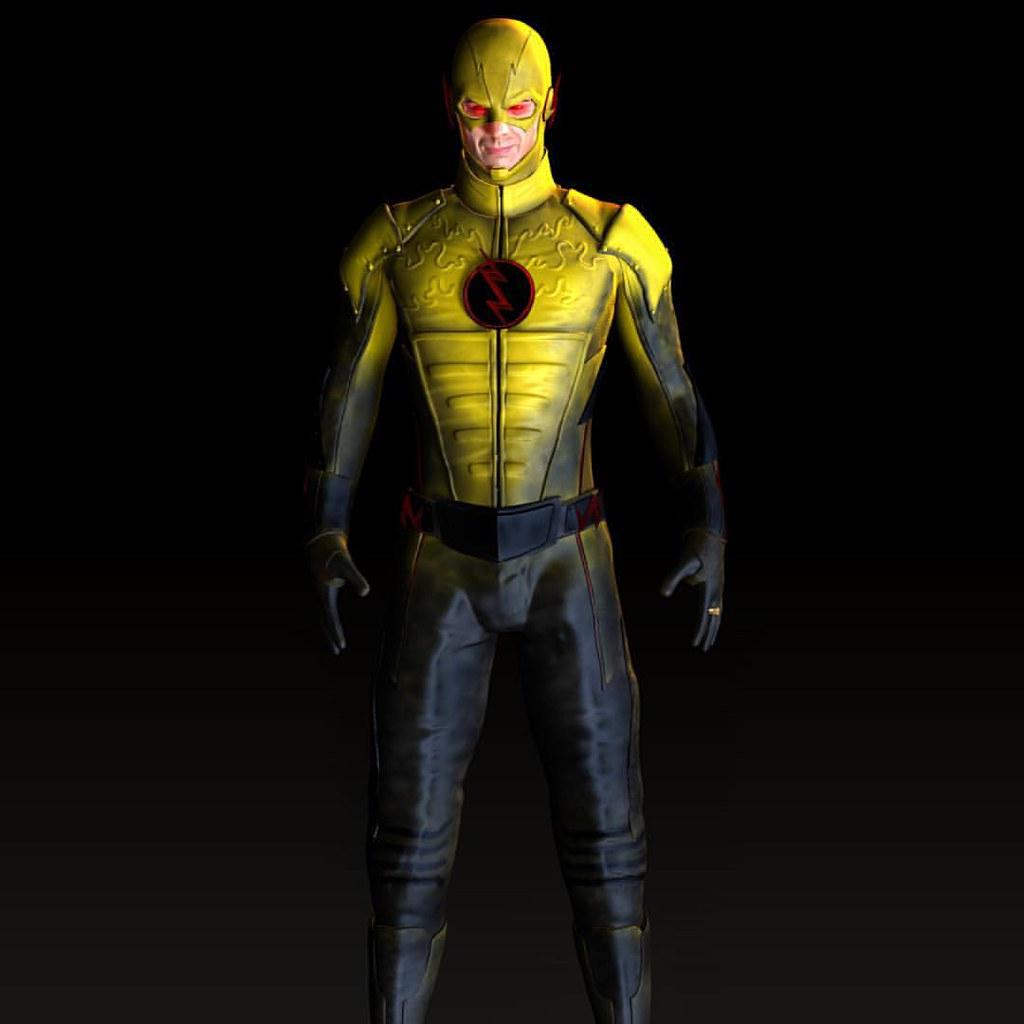 Tom Cavanagh As Eobard Thawne Harrison Wells Reverse Flash Art Artfollowsme