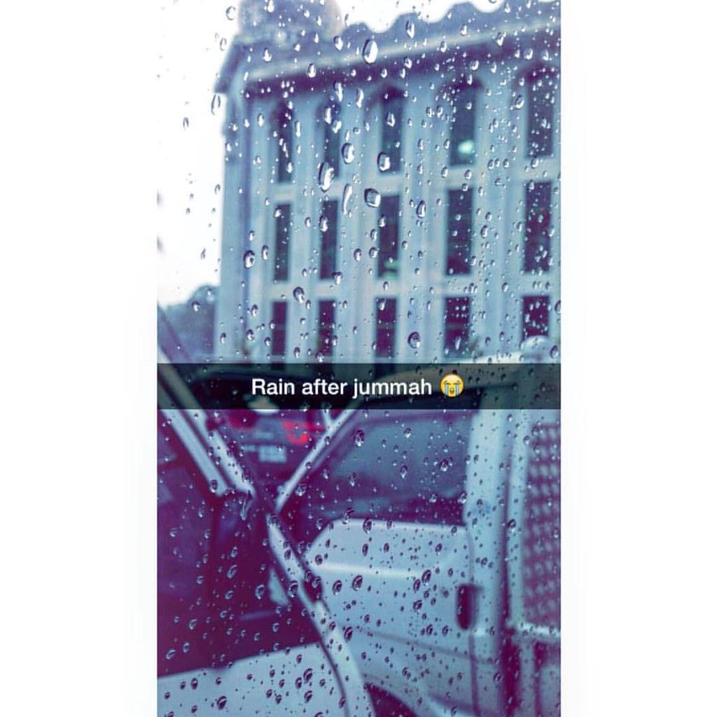 Rain After Jummah Goodvibes