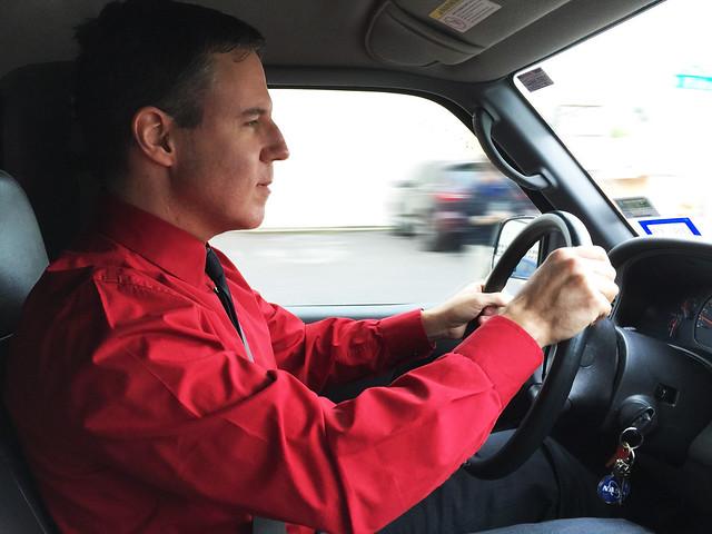 Kraftwerk Drives a Truck