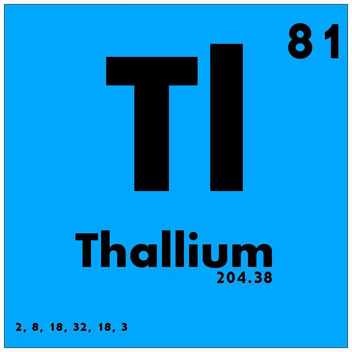 081 thallium periodic table of elements watch study guid flickr 081 thallium periodic table of elements by science activism urtaz Choice Image
