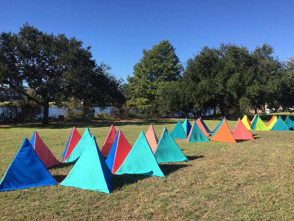 #light #henrydavidthoreau # East Austin Studio Tour, sculpture installation on Lake Austin. #light #henrydavidthoreau #
