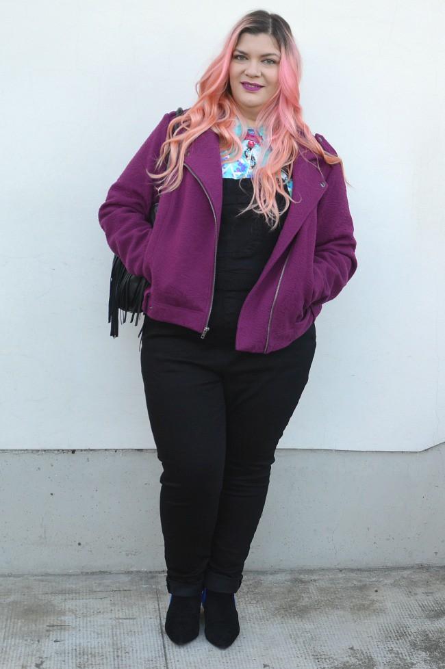 Outfit plus size salopette  (9)