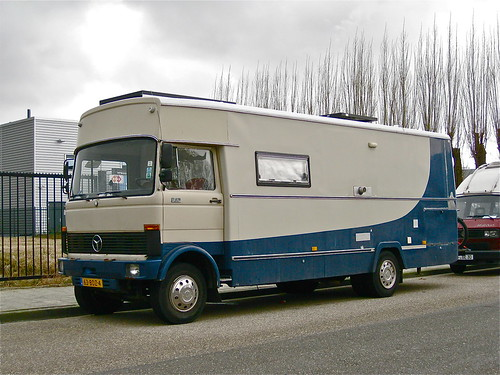 1982 mercedes benz lp813d mobile home huge camper made for Mobile mercedes benz