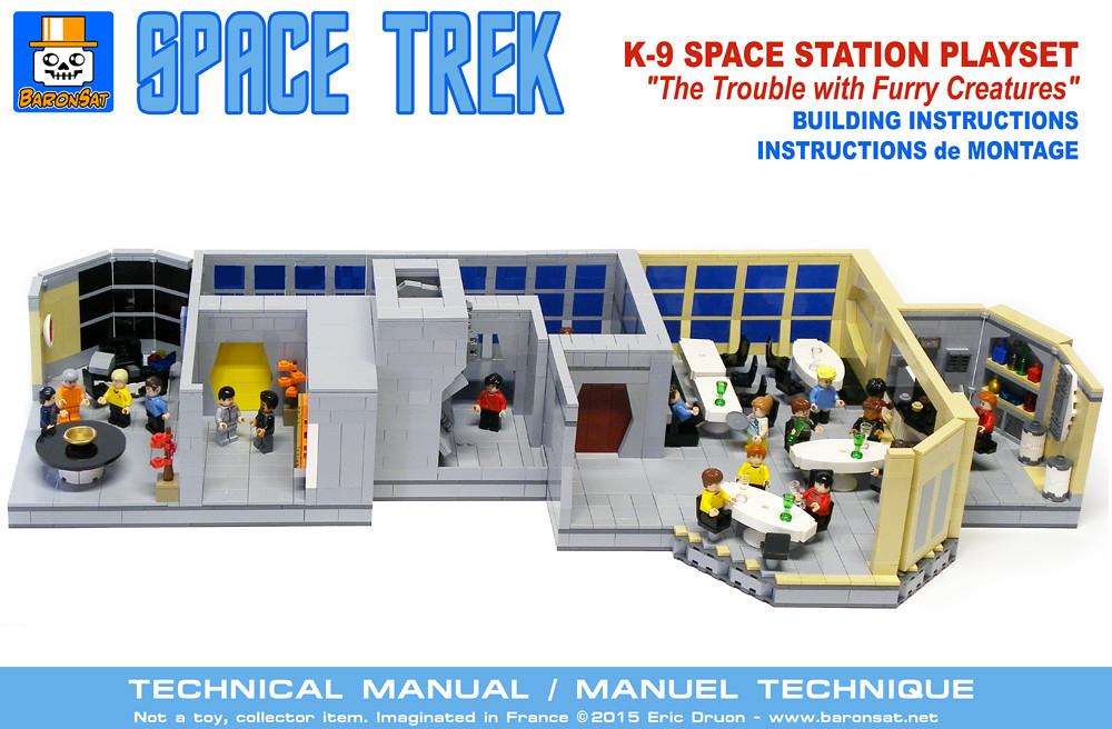 Star Trek K 7 Space Station Instructions Instructions For Flickr