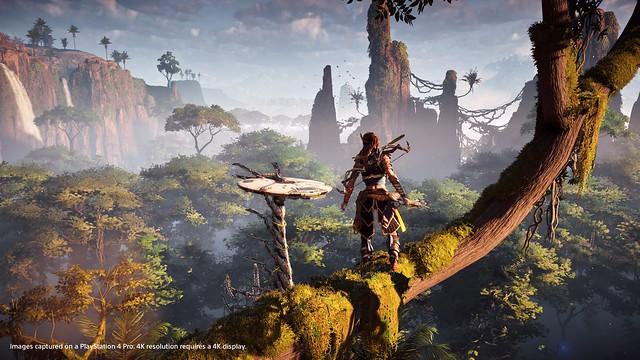 Horizon Zero Dawn, PS4 Pro