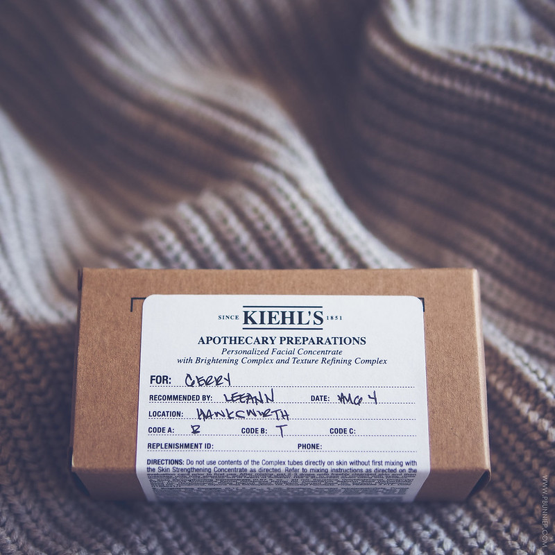 Kiehls Apothecary Preparations Customized Serum Review
