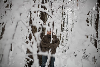 Tyler in Snowy Woods | by goingslowly