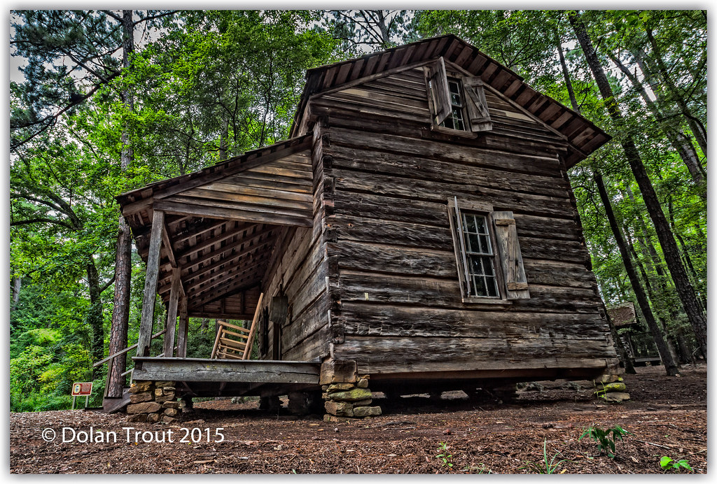 ... Pioneer Log Cabin At Callaway Gardens | By Dolan Trout