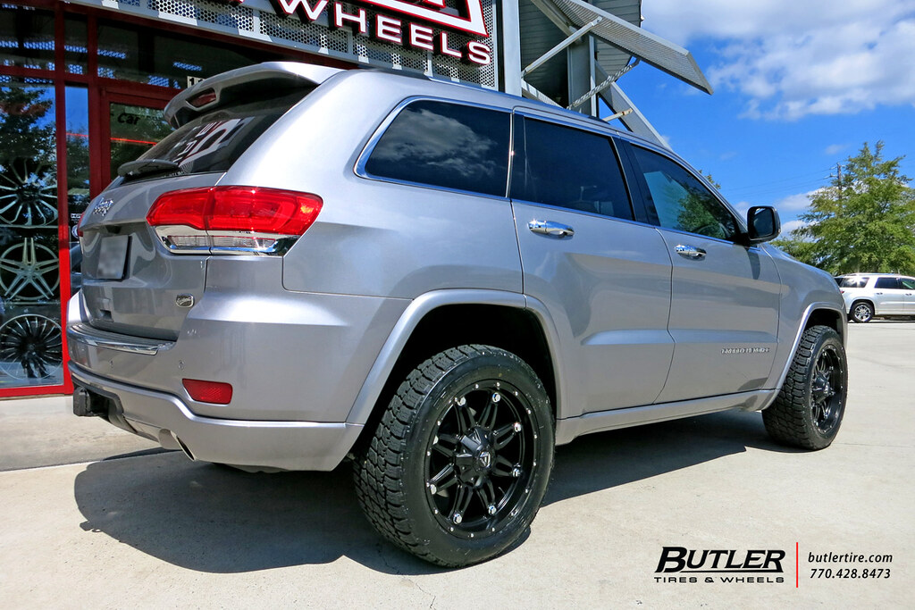 ... Jeep Grand Cherokee With 20in Fuel Hostage Wheels And Nitto Terra  Grappler G2 Tires | By