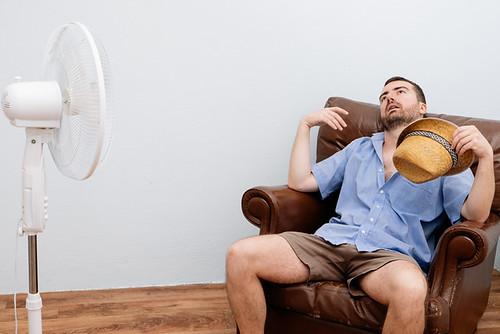 a fan just doesn't cut it