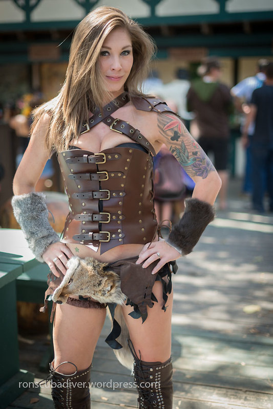 Woman, Leather and Tattoos | by Ron Scubadiver's Wild Life