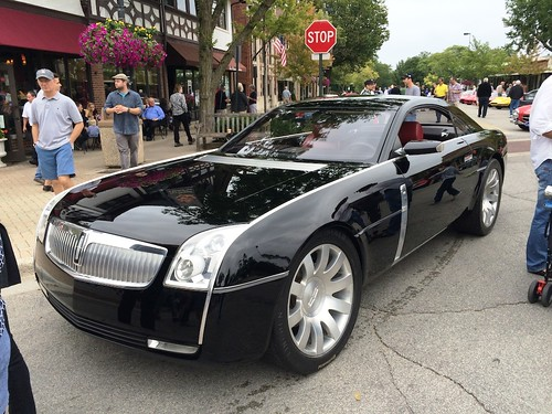2001 Lincoln Concept Car. 2001, 4.6 L engine, on a Lincoln ...