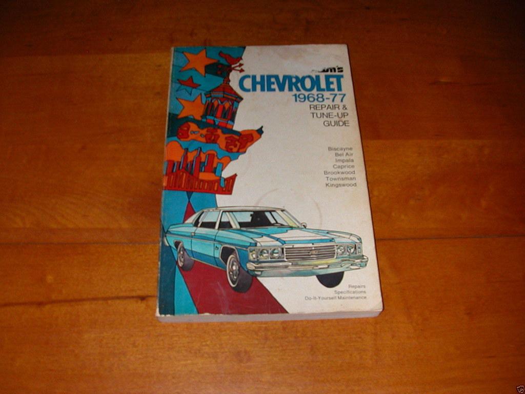 ... ManualsPRO - 1968-1977 CHEVROLET IMPALA FULL SIZE CHEVY CHILTON SERVICE  REPAIR MANUAL https: