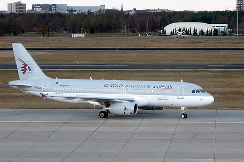 A7-ADD Airbus A.320 Qatar Airways.