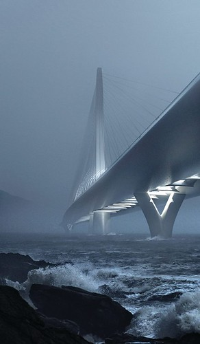 Zaha Hadid Architects - 淡江大橋 Danjiang Bridge - redering 03(render by MIR) | by 準建築人手札網站 Forgemind ArchiMedia