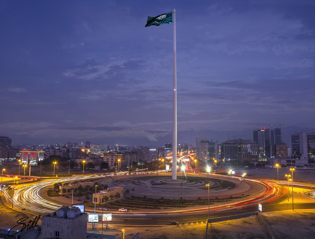 Flagpole jeddah 500pxphoto185010089 170 m 558 ft flickr flagpole jeddah by siddphotography flagpole jeddah by siddphotography sciox Image collections