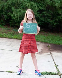 Piper 1st day of 5th grade 2015-16 | by thelucaszoo