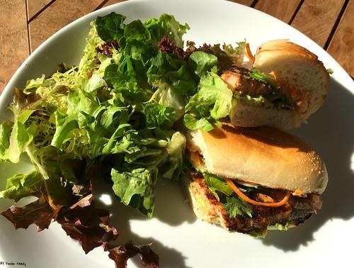 Grilled Salmon Banh MI