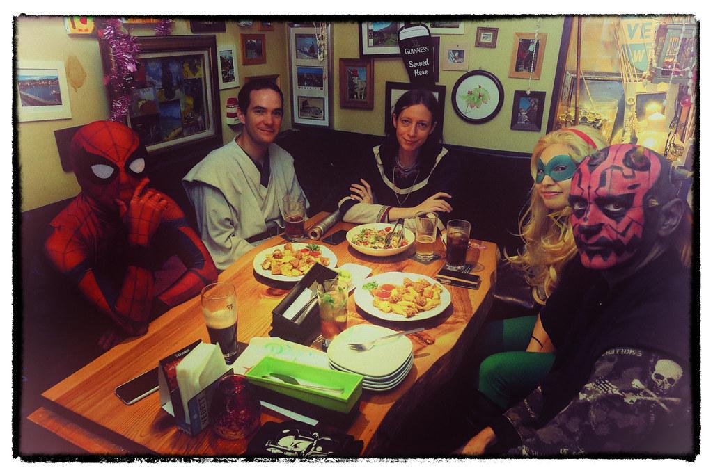 Superhero Dinner