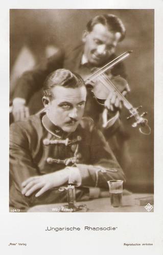 Willy Fritsch in Ungarische Rhapsodie