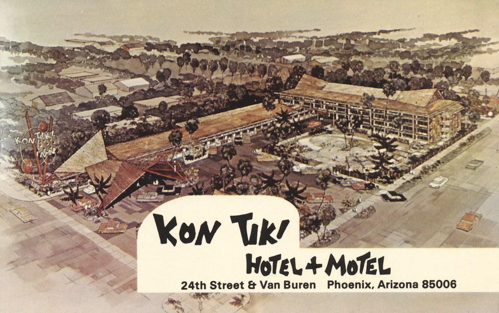 Kon Tiki Hotel & Motel - Phoenix, Arizona