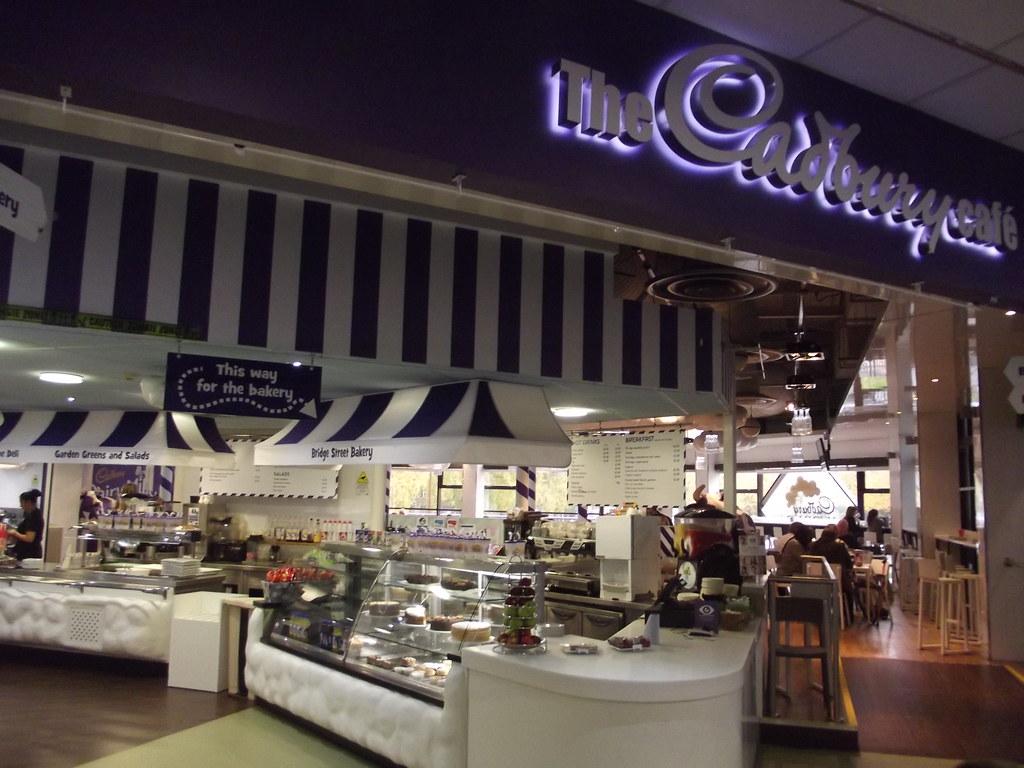 Cadbury World cafe