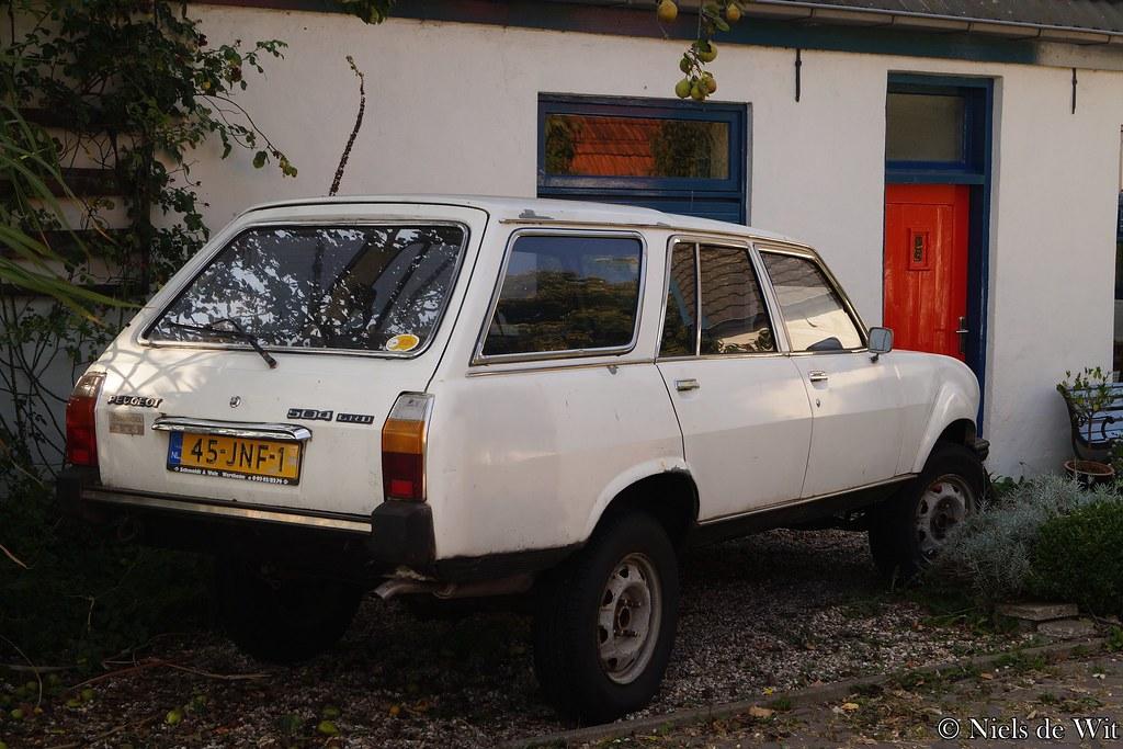 1984 Peugeot 504 Dangel 4x4 Grd 45 Jnf 1 Huppelpad Wageni Flickr