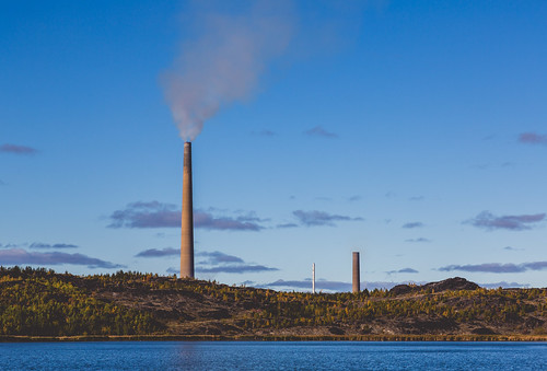 Vale Copper Cliff Nickel Refinery Smoke Stacks - Sudbury, Ontario | by Tony Webster