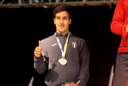 Medalla de plata Gabriel Sanz-Agero Juegos Bolivarianos de Playa, Iquique 2016