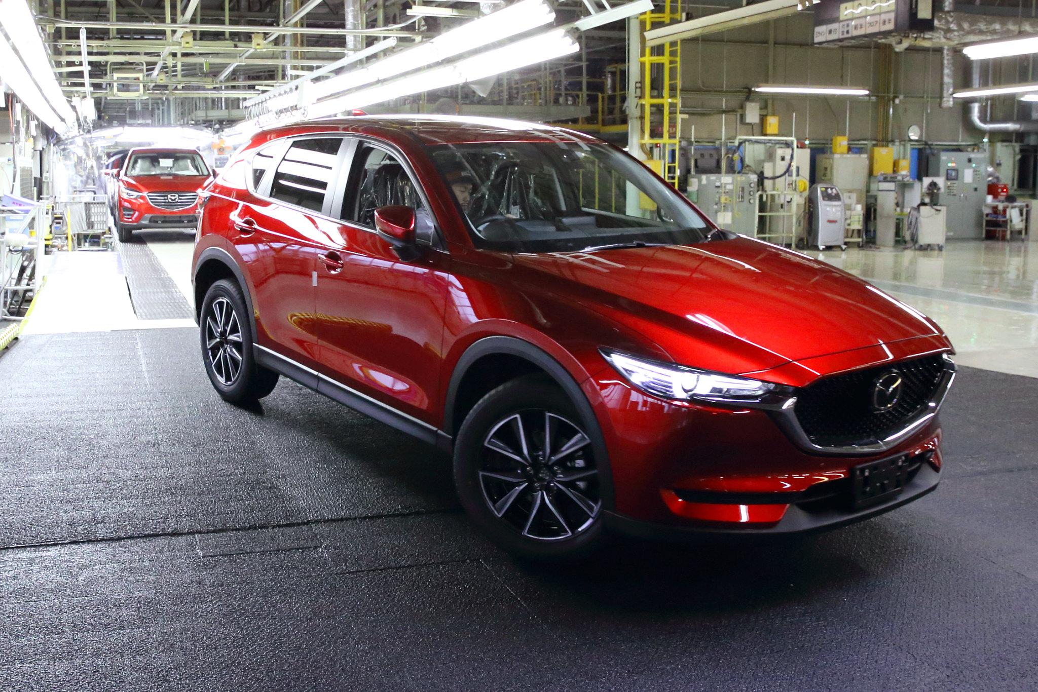 Mazda starts production of 2017 CX-5