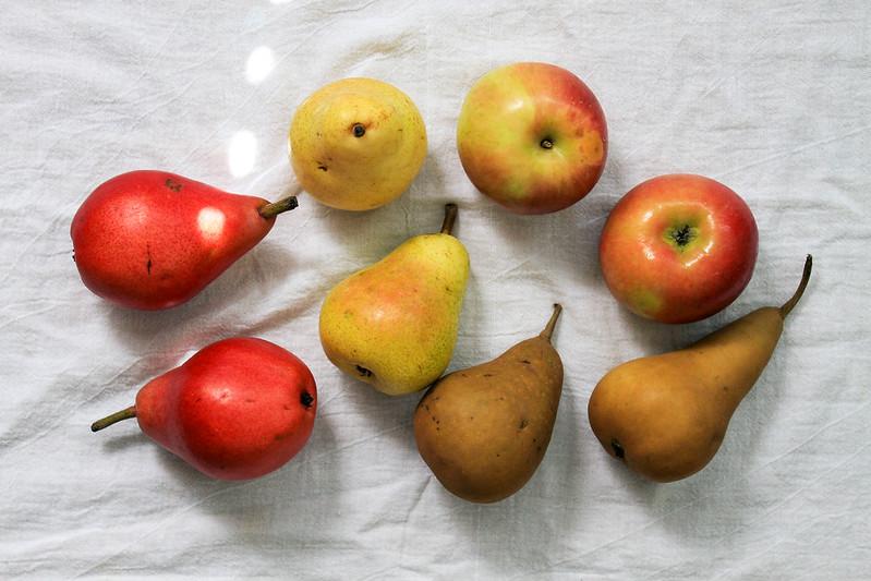 Easy, Healthy Rustic Apple & Pear Crisp