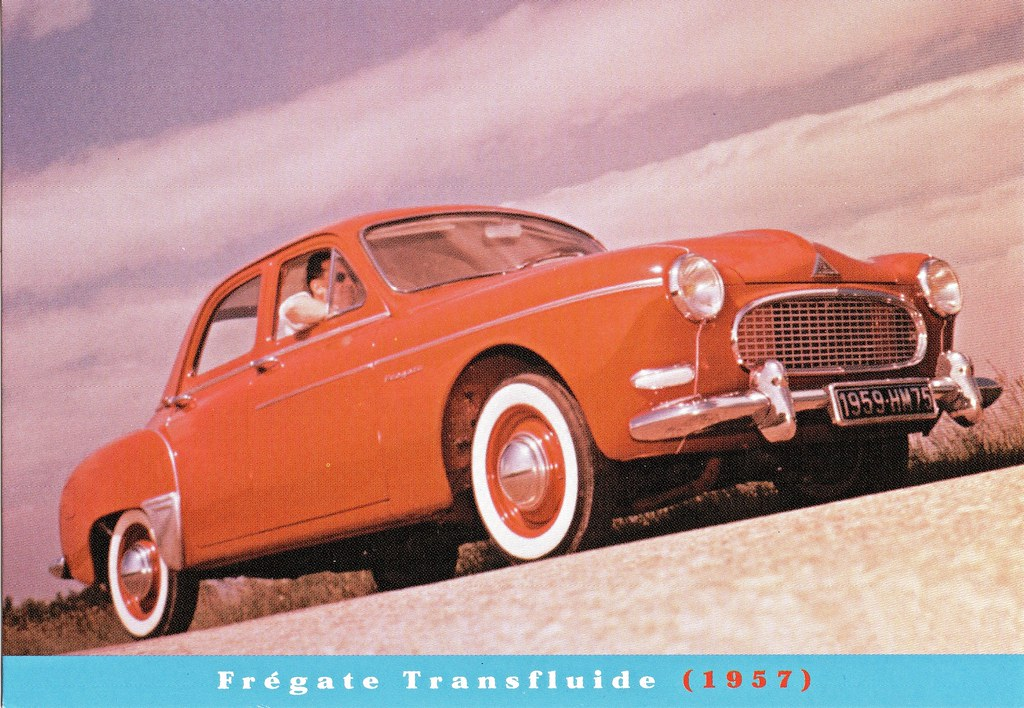 1959 Renault Fregate Transfluide One Of A Set Of Historic Flickr