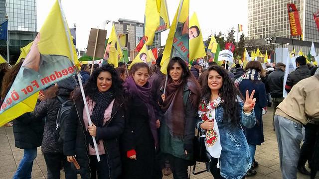Manifestation européenne contre Erdogan (1)