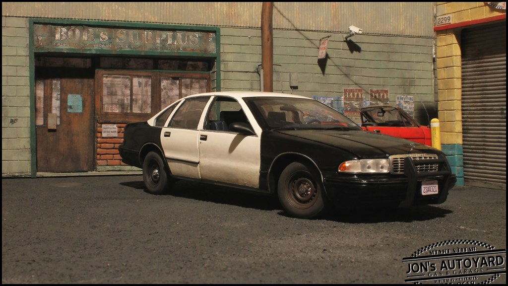1 18 Chevy Caprice Ex Police Auctioned 1995 Lapd Chevrolet Flickr