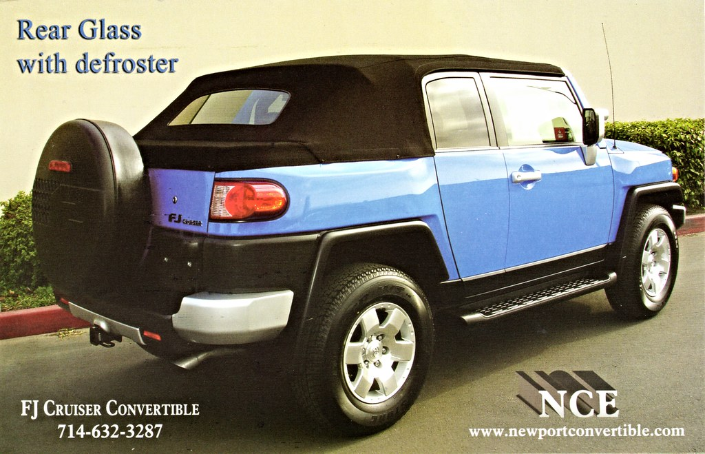 ... Toyota FJ Cruiser Convertible By NCE | By Aldenjewell