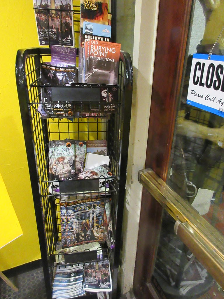 haunted happenings magazine in the lobby at the army barra… | flickr
