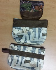 Three more bags finished last night for gifts.