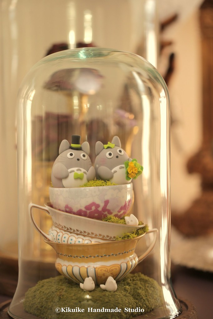Totoro wedding cake topper | www.etsy.com/shop/kikuike?ref=l… | Flickr