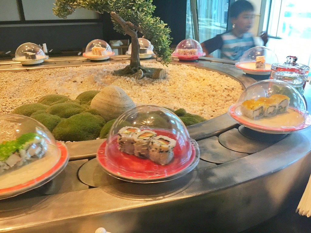 All you can eat Sushi and Sashimi - Itsu Dubai Marina