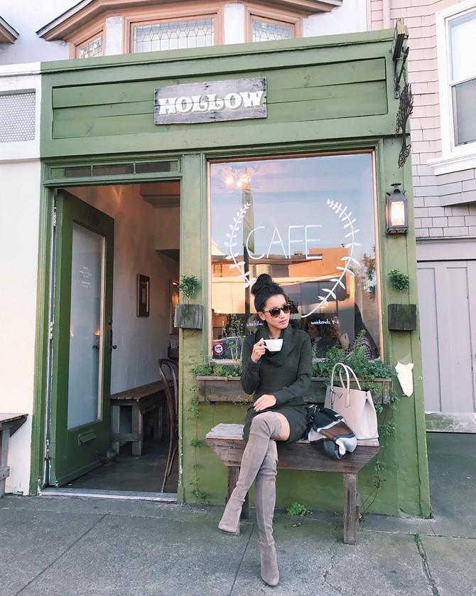 hollow cafe coffee shop sunset san francisco