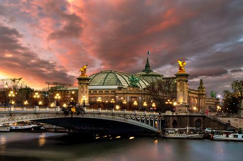 Pont Alexandre III et Grand Palais, Paris {Explore 04/12}