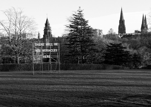 there will be no miracles here | edinburgh | by John FotoHouse