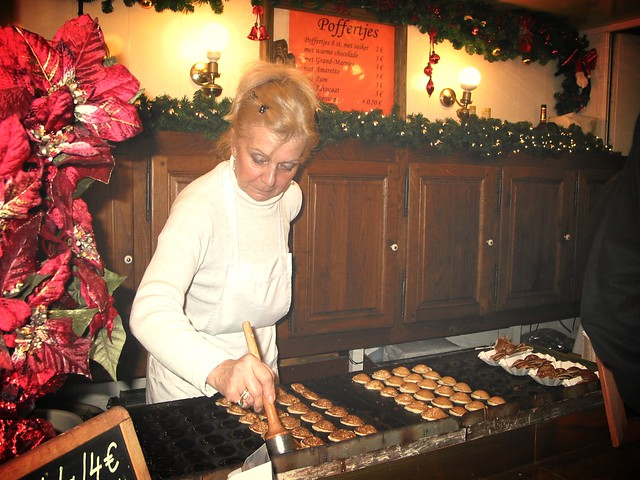 Outdoor Holiday Market Vendor