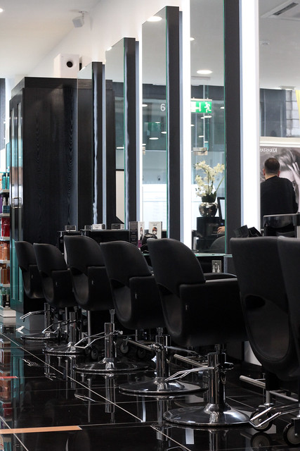 Inside RUSH Hair Manchester