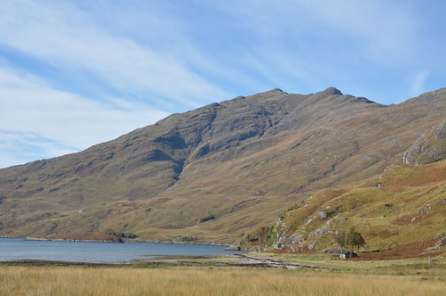 Sourlies Bothy and Beinn Bhuidhe