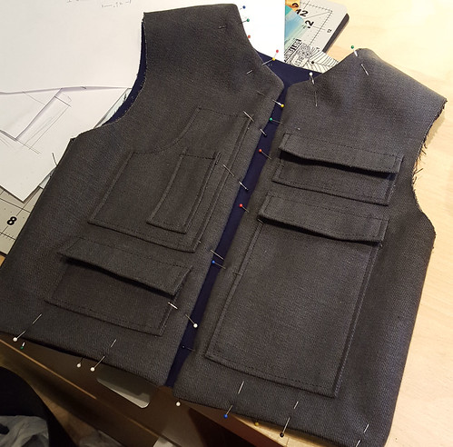 Woody Solo Costume in Progress: Vest | by staarlight