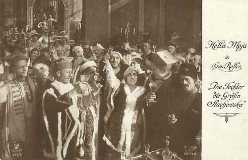 Hella Moja in Die Tochter des Gräfin Stachowska (1917)