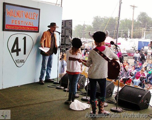 2012 Walnut Valley Festival Acoustic Kids | by Andy-May