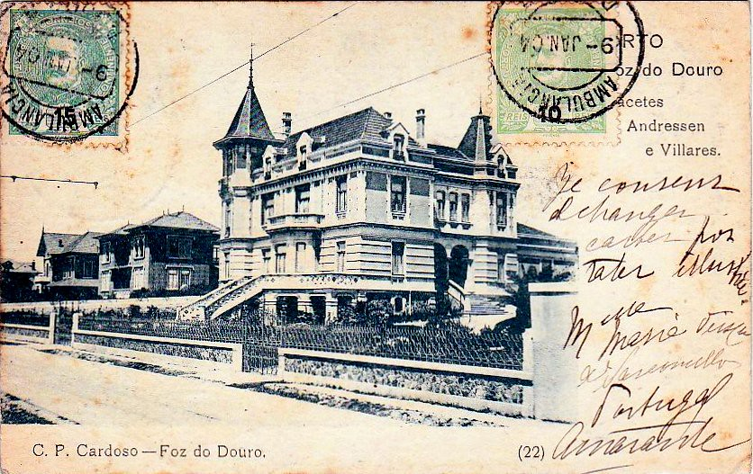 Palacetes Andressen e Villares, Foz do Douro, c.1900